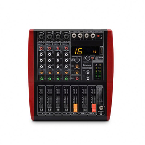 Tiwa 4 Channel Professional Digital Mini Audio Mixer Console
