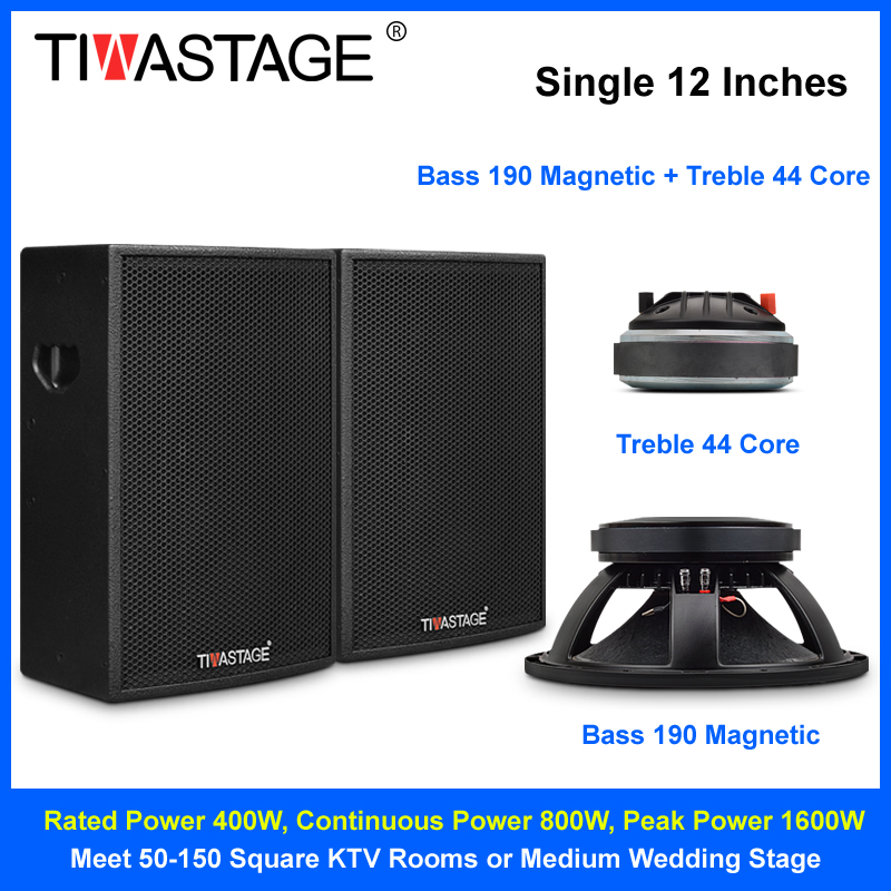 Tiwa 12 inch speaker professional for stage performance