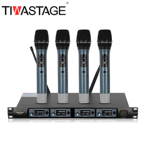 Tiwa UHF wireless microphone with 4 handheld