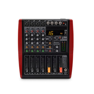 Tiwa Mini 4 Channel USB Audio Mixer Console With Bluetooth