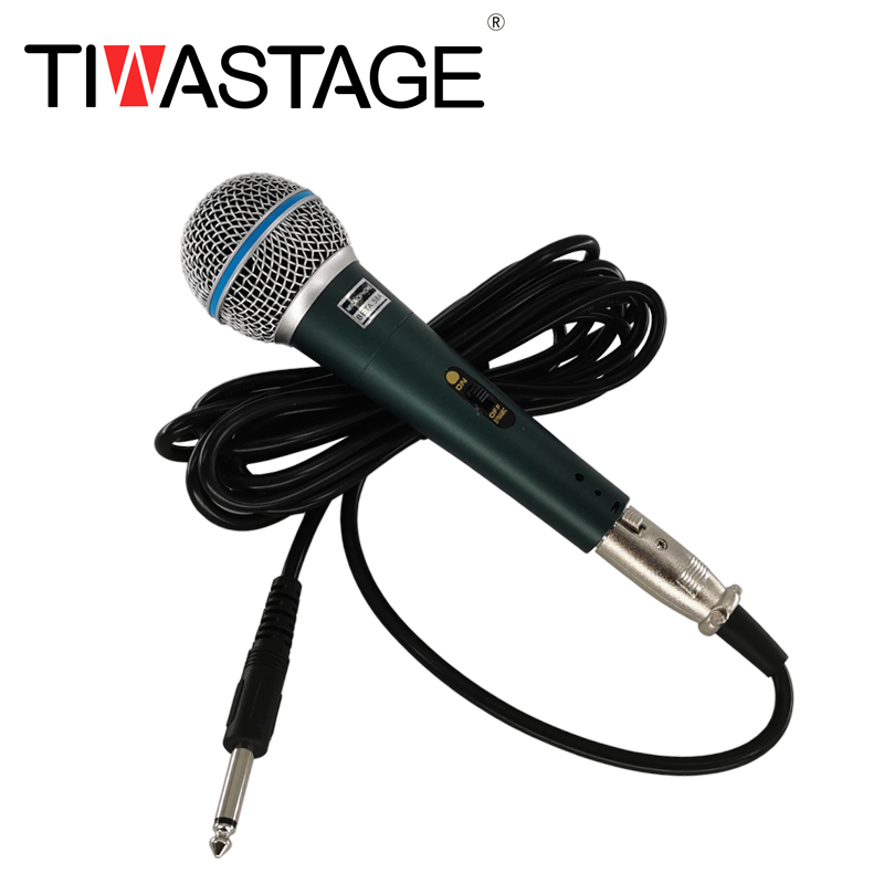 Professional Wired Dynamic Microphone Beta 58A 1 pair